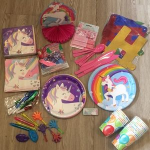 🦄 Unicorn Theme Birthday 🎂 Party 🎉